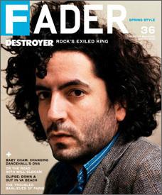 Daniel Bejar Destroyer Fader magazine.