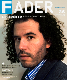 Daniel Bejar Destroyer Fader magazine.
